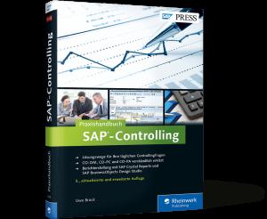 Cover des Praxishandbuchs SAP-Controlling
