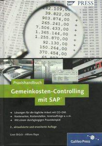 Cover des Praxishandbuchs Gemeinkosten-Controlling mit SAP von Uwe Brück