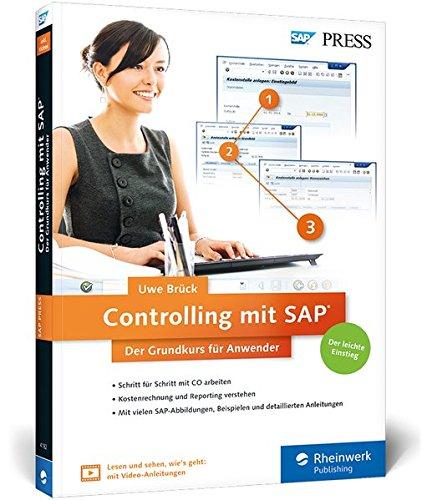 Buch-Cover Controlling mit SAP - Der Grundkurs für Anwender von Uwe Brück