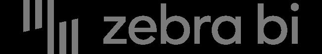 Logo Zebra BI in Graustufen